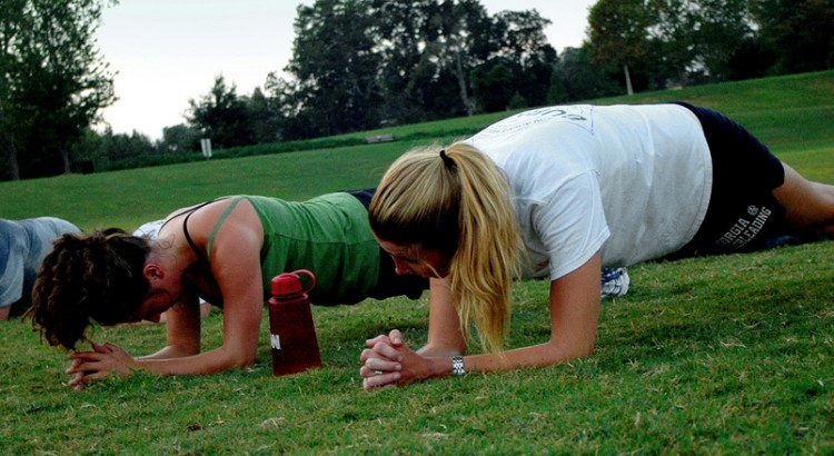 Core Exercise - The Plank