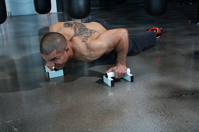 Push Up Variation