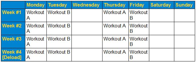 4 Day Plan