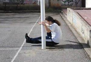 assisted pistol squat