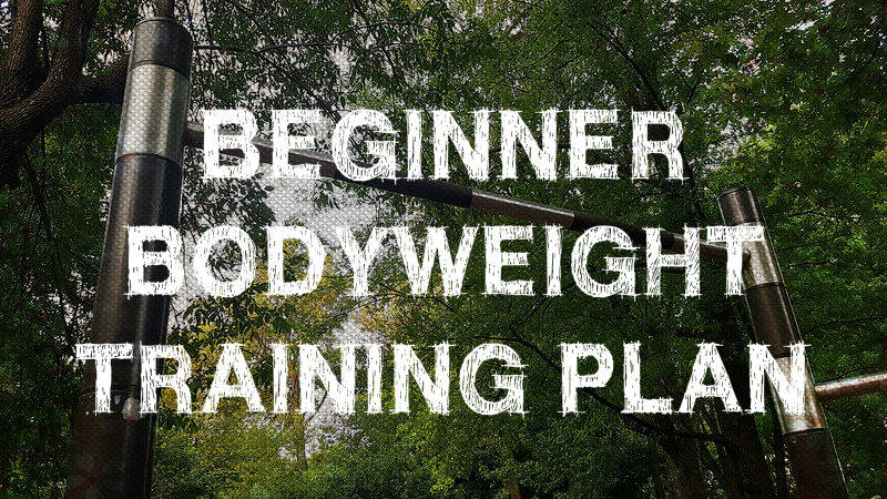 Beginner Bodyweight Training Plan