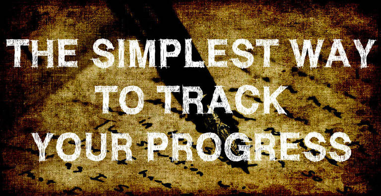 How to track your progress